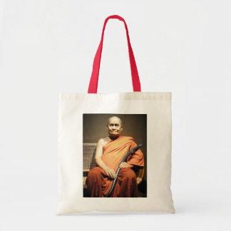 Luang Poo Cha Subhaddho ... Buddhist Monk Tote Bag