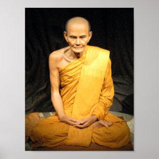 Luang Poo Mun Bhuridatto ... Buddhist Monk Poster