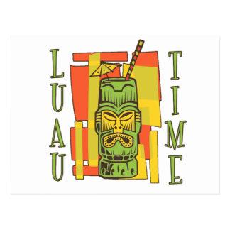 Luau 2 post card