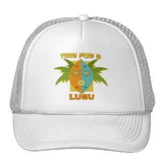 Luau 4 mesh hats