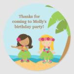 Luau Birthday Party Sticker