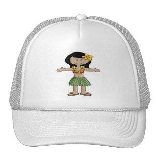 Luau Girl Hats