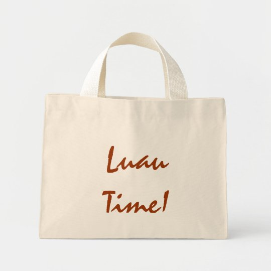 Luau Time! Mini Tote Bag