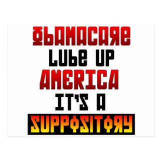 Lube Up America Postcard