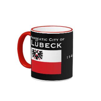 Lubeck - Germany Custom Crest and Flag Mug