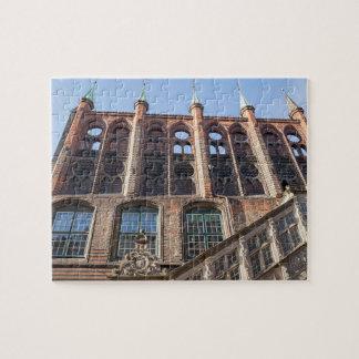Lübeck Town Hall Jigsaw Puzzle