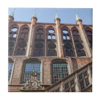 Lübeck Town Hall Tile