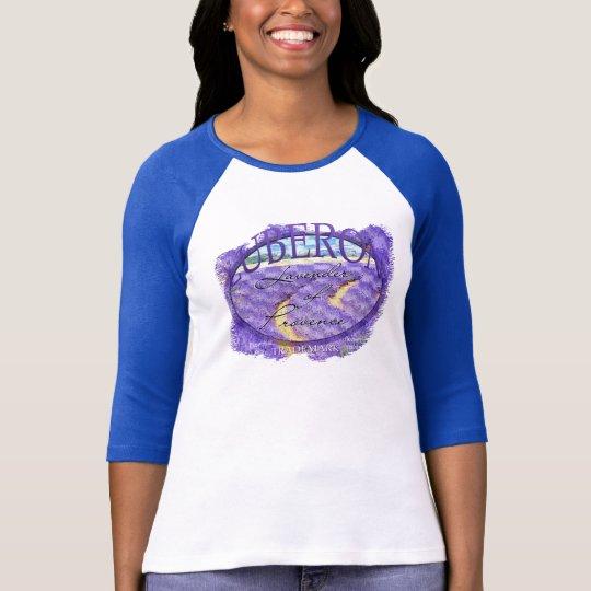 Luberon lavender fields T-Shirt