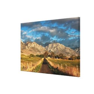 Lubken Canyon Road Canvas Print