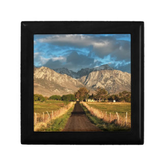 Lubken Canyon Road Small Square Gift Box