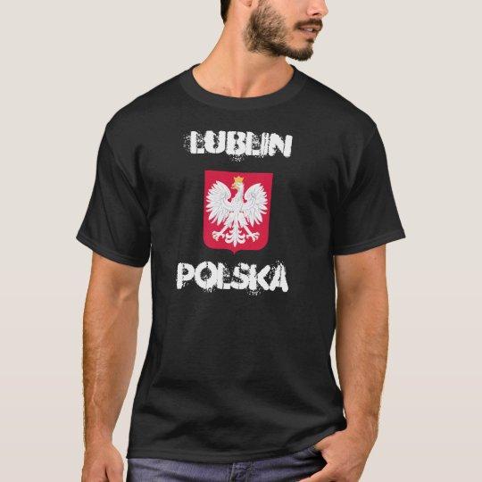 Lublin, Polska, Lublin, Poland with coat of arms