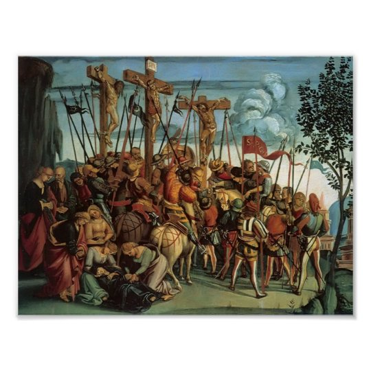 Luca Signorelli- The Crucifixion Poster