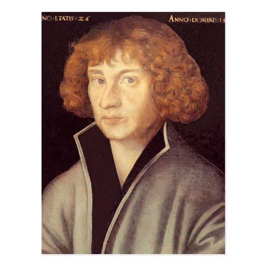 Lucas Cranach the Elder- Georg Spalatin Postcard