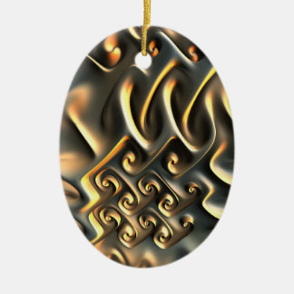 Luca's gold Ornament