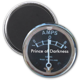 Lucas, Prince of Darkness 6 Cm Round Magnet
