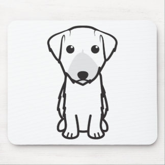 Lucas Terrier Dog Cartoon Mouse Mat