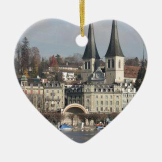 Lucern, Switzerland Christmas Ornament