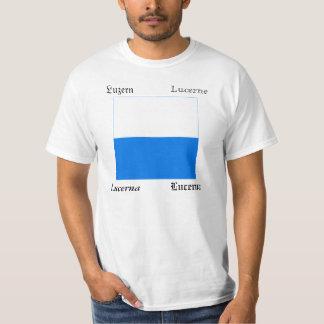 Lucerne Four Language Swiss Canton Flag T-Shirt