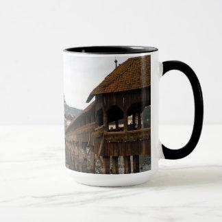 Lucerne Kappelbrücke coffee cup