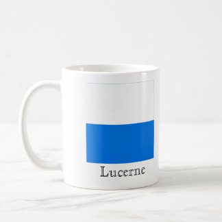 Lucerne, Suisse Drapeau Flags Coffee Mug