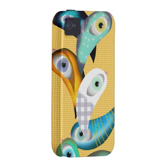 Lucha Libre Birds Iphone 4 Case