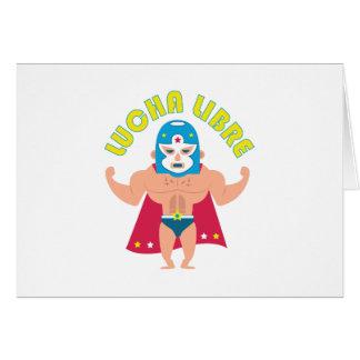 Lucha Libre Greeting Card
