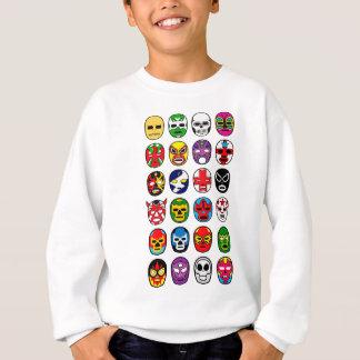 Lucha Libre Luchador Mexican Wrestling Masks Sweatshirt