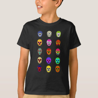Lucha Libre Mask Mexican Wrestling T-Shirt
