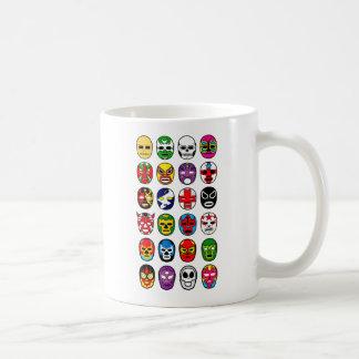 Lucha Libre Mask wrestler Mexican Wrestling Coffee Mug