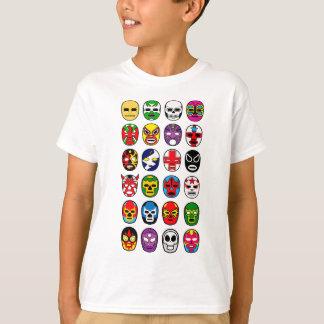 Lucha Libre Mask wrestler Mexican Wrestling T-Shirt