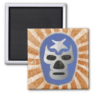 Lucha Libre Mexican Wrestling Magnet