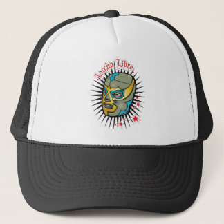 Lucha Libre Mexican Wrestling Mask Trucker Hat