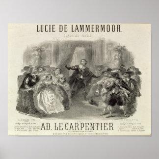 Lucia de Lammermoor' the opera Poster