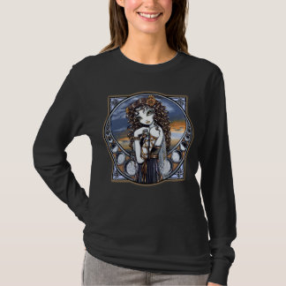 """Lucia"" Gothic Flower Moon Fairy Art Top"