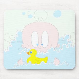Lucia in Bubbles Mousepads