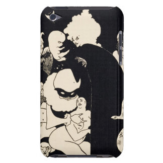 Lucian s Strange Creatures illustration from Luc Barely There iPod Covers