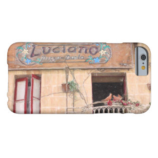 Luciano's Pizza Barely There iPhone 6 Case