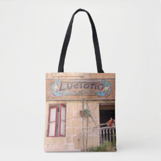Luciano's Pizza Tote Bag
