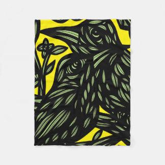 Lucid Action Encouraging Passionate Fleece Blanket