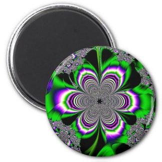 Lucid Floral 6 Cm Round Magnet