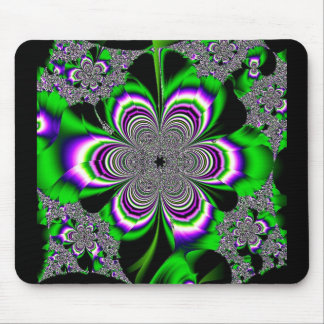 Lucid Floral Mouse Pad