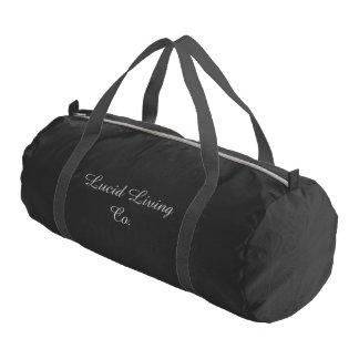 Lucid Living Co. Duffle Gym Bag Gym Duffel Bag