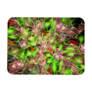 Lucid Rosebush Rectangular Photo Magnet