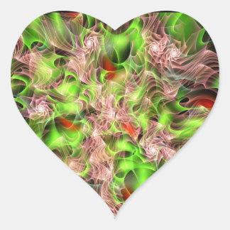 Lucid Rosebush Heart Sticker