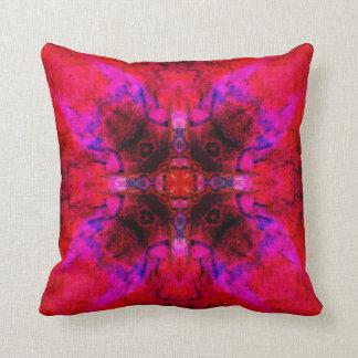 Lucifer blossom mandala cushion