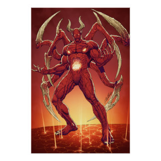 Lucifer the Devil, the Prince of Darkness, Satan Posters