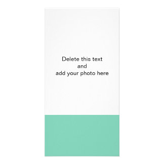 Lucite Green High End Solid Color Photo Card Template