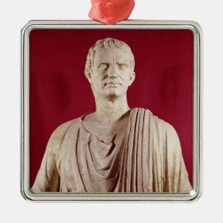 Lucius Cornelius Sulla  Orating Silver-Colored Square Decoration
