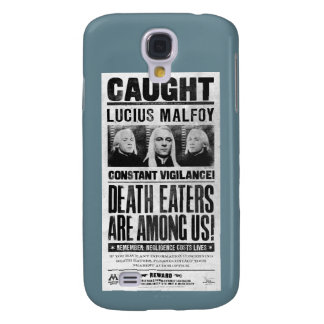 Lucius Malfoy Wanted Poster Galaxy S4 Case