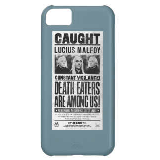 Lucius Malfoy Wanted Poster iPhone 5C Case